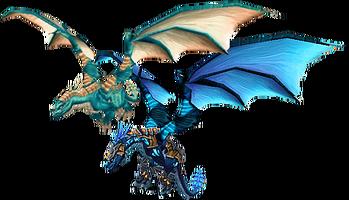 Blue drakes