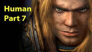 Warcraft 3 Gameplay - Human Part 7 - The Shores of Northrend