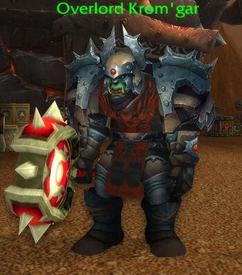 Overlord Krom'gar