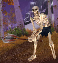 Skeletal Woodcutter