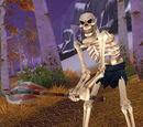 Skeletal Woodcutter