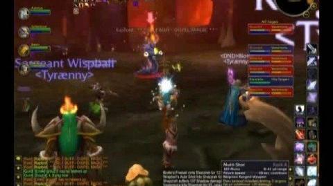 WoW Tyraenny Kill Molten Core - Shazzrah