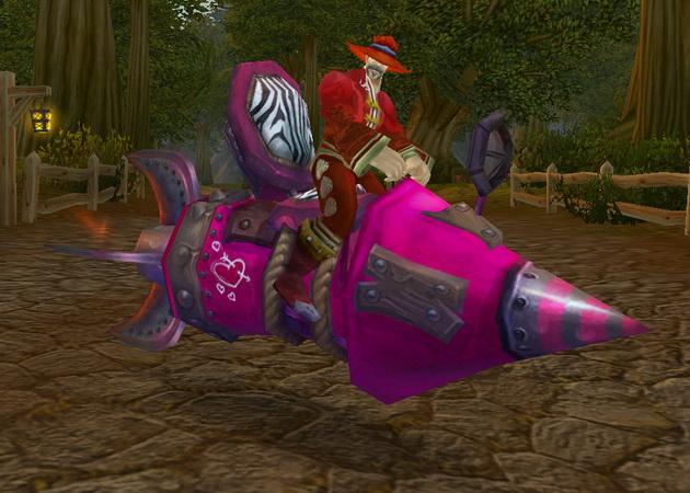 Big Pink Love Rocket!!