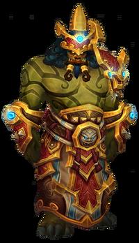 Pandarian mogu king