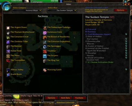 wow how to join instance