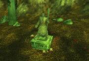 Elf statue Felwood