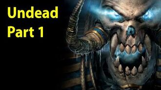Warcraft 3 Gameplay - Undead Part 1 - Trudging through the Ashes