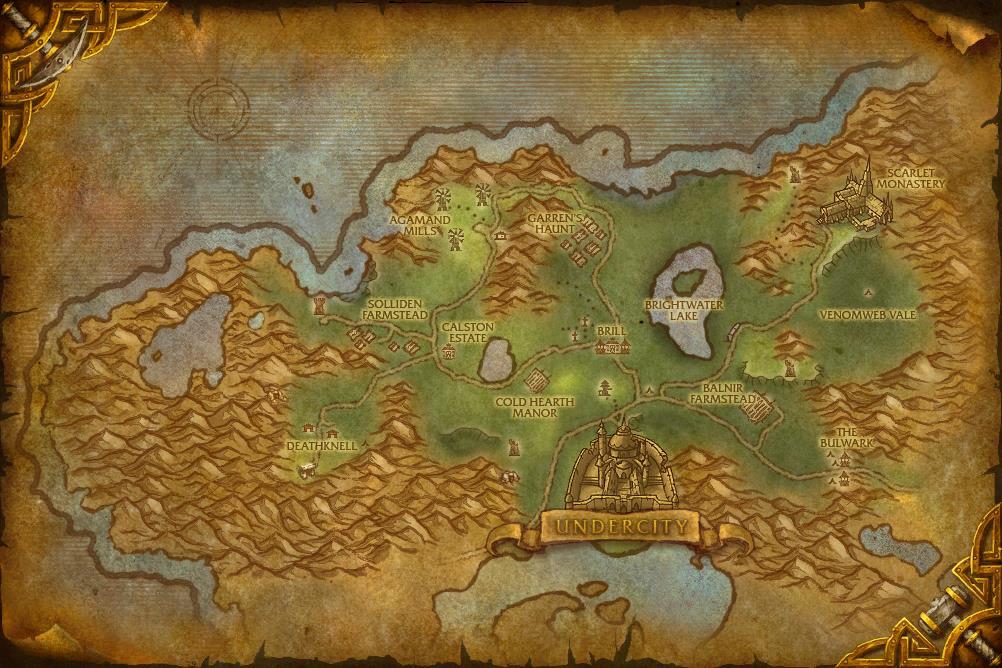 Ruins of Lordaeron Location Coast · Ruins of Lordaeron