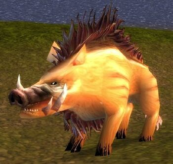 Mangy Mountain Boar