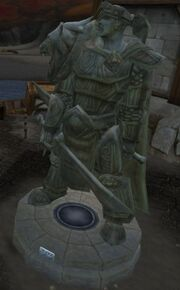 Varian Wrynn Statue