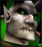 Detheroc's face