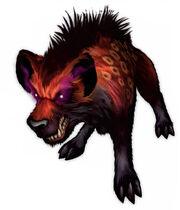 Dire hyena