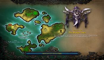 The Broken Isles (WC3)