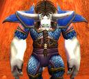 Blue Dragonscale Leggings