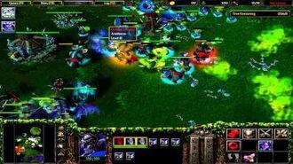 Warcraft 3- ROC – 7. Twilight of the Gods (Hard) Night Elf Campaign