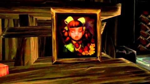 Blinking Painting in Gilneas