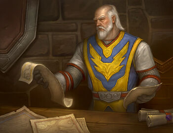 Force Commander Danath Trollbane