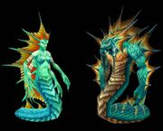 Naga female and male