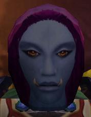 Flimsy Female Troll Mask