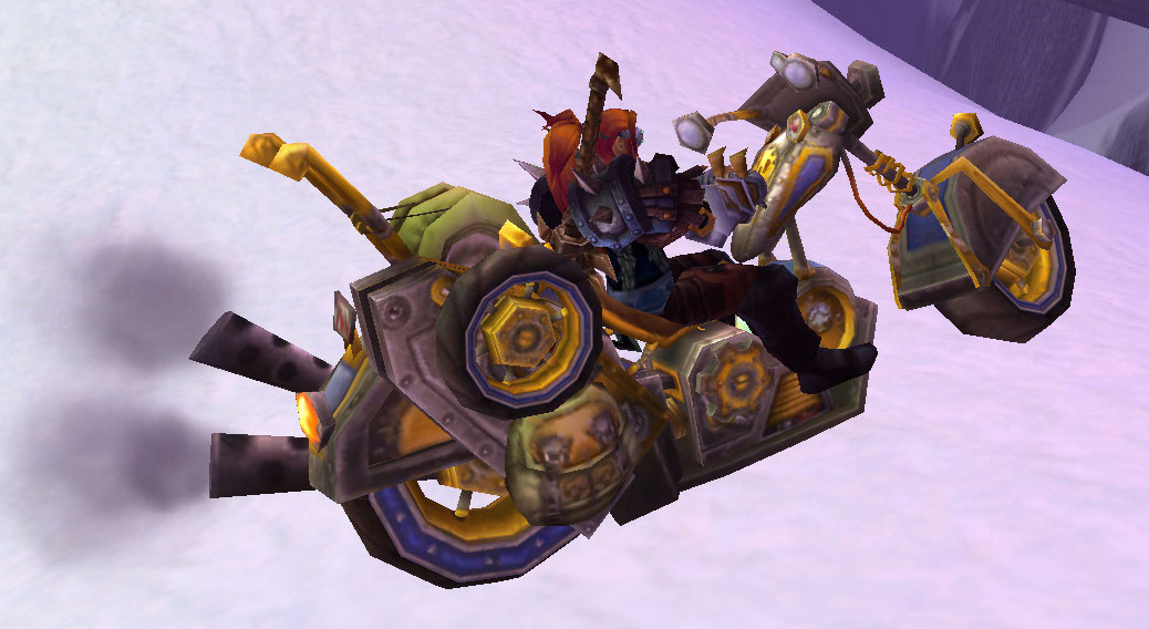how to get alliance chopper bike in wow