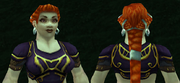Imbued Netherweave Tunic, Grass Background, Dwarven Female