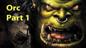Warcraft 3 Gameplay - Orc Part 1 - Landfall