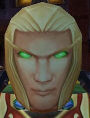 Flimsy Male Blood Elf Mask