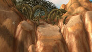 Razorfen Downs path (Cataclysm)