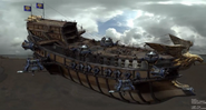 Legion cinematic Varian and the gunship scene 18