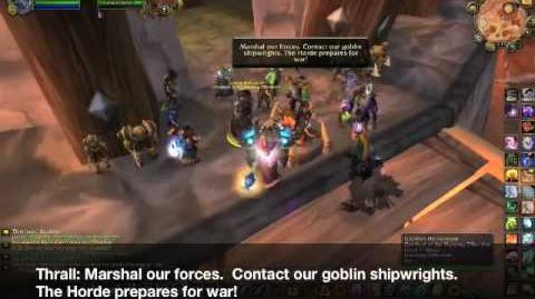 Horde goes to War, Thrall vs Garrosh
