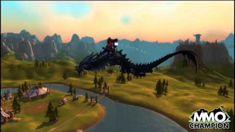 Mists of Pandaria - Cloud Serpent Mount