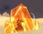 Ancient amber sathan