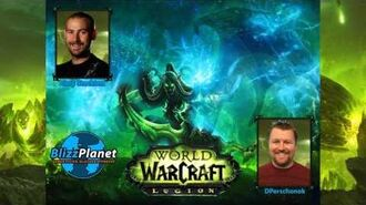 Blizzcon 2015 - World of Warcraft Legion - Cory Stockton interview Blizzplanet