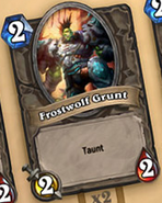 Hearthstone Frostwolf Grunt