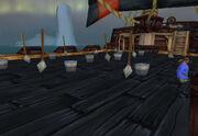 Deck swabbin
