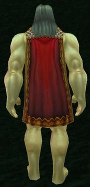 Khan's Cloak, Grass Background, Human Male
