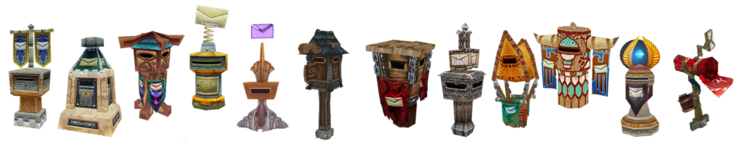 Main Faction Postboxes