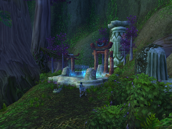 vanilla wow how to get to darnassus