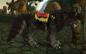 Grek's Riding Wolf