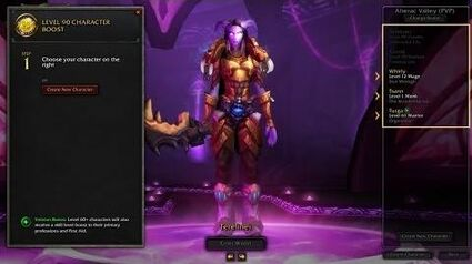 World of Warcraft Character Boost Tutorial (EU)