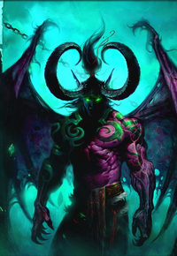 Illidan Stormrage image from Wowwiki