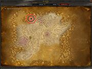 Location in Silithus
