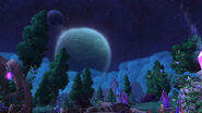 Shadowmoon Draenor sky