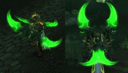 how to get warglaive transmog
