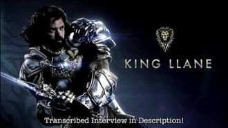 Dominic Cooper Warcraft Movie On-Set Interview