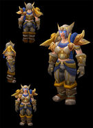 Lieutenant Commander's Battlearmor dwarf female