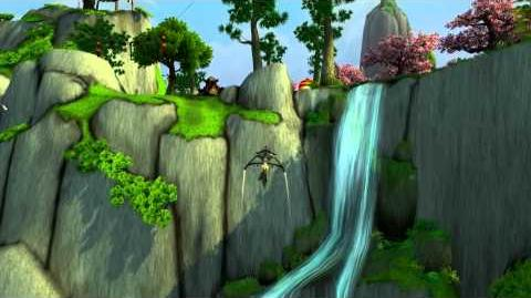 MoP Beta with Nobbel Flying over Jade Forest HD