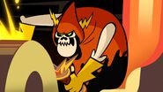 S1e3b Lord Hater sharpening sword