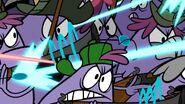 S1e3a Monsters fighting half 1 - closeup