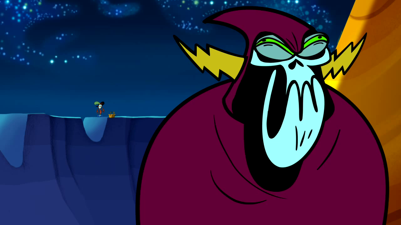 Image - S1e2a The Picnic-Lord Hater's Funny face 04.png ...